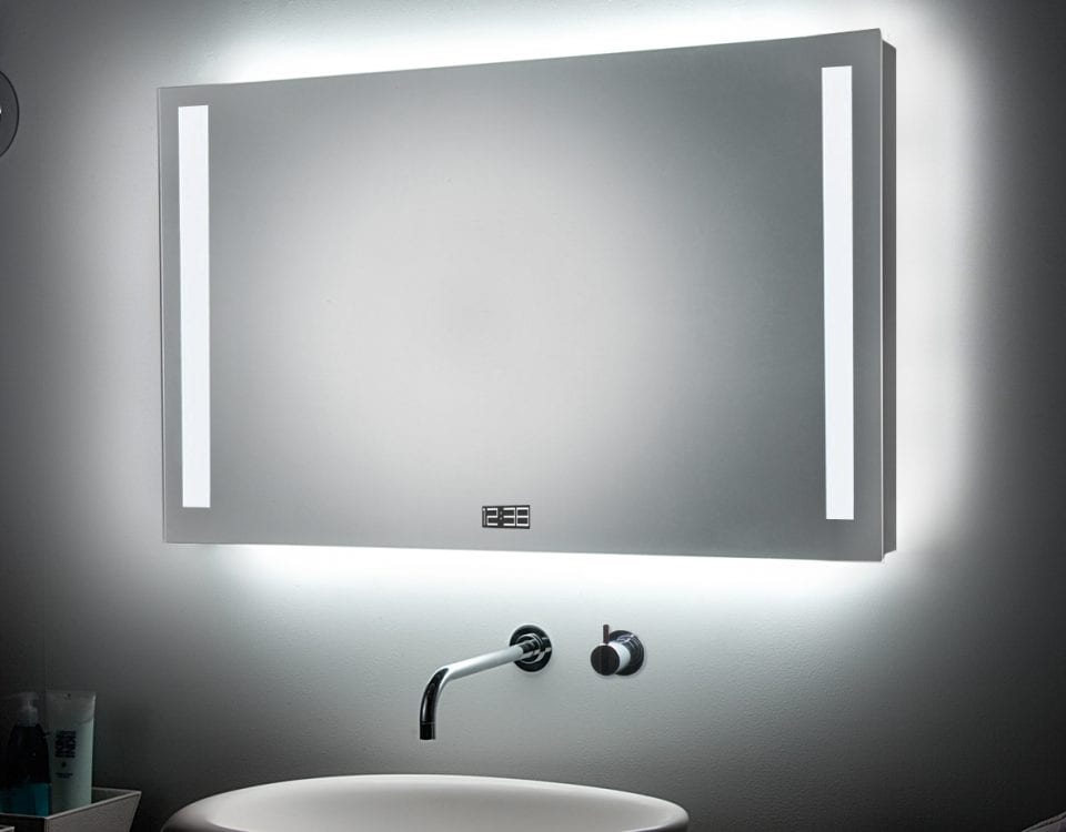 Зеркало с подсветкой Mirror +5 Burg&glass