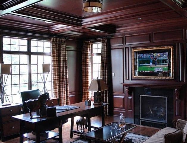 Уютный кабинет- это второй дом