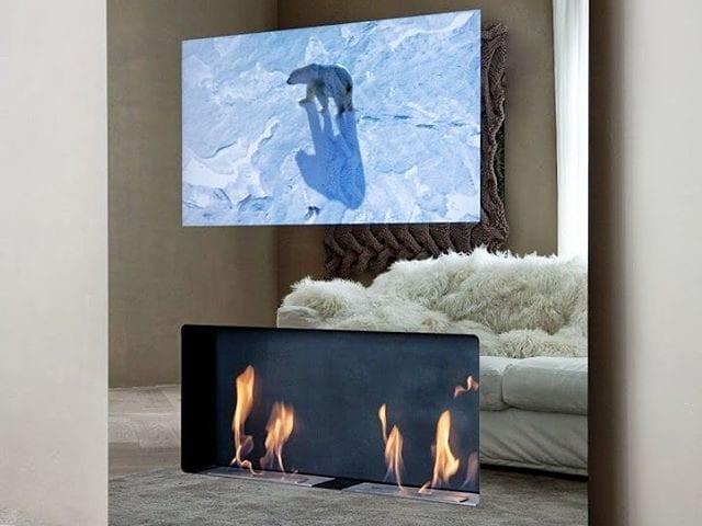 Друзья, у нас НОВИНКА! ------------------------------------------ Очень красивое и функциональное решение Burg&Glass: телевизор B&G 48 дюймов 4K!!!, Apple TV, аккустика, Smart TV, жесткий диск, биокамин  и все это в стекле белого/чёрного цвета или даже зеркале! 😎 Никаких крепежей, проводов