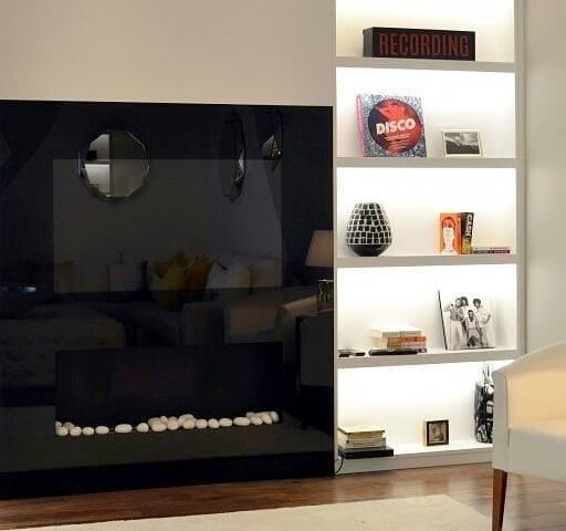 Мы совместили для Вас две вещи которые создают уют и комфорт в доме: биокамин и телевизор
