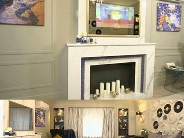 Телевизор Burg&Glass 42 дюйма для @gagara1987 😊 Полина подарила своей маме новый ремонт в квартире в которой она выросла