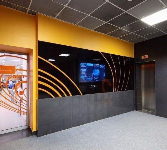 В центральном здании РИА-НОВОСТИ в Москве можно найти несколько наших работ