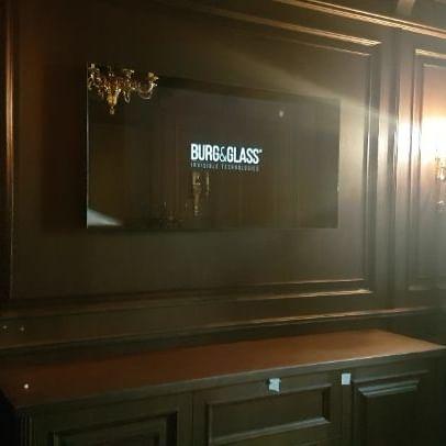 "Видео телевизора Burg&Glass 50"" без ""фотошопа"" и доработок"