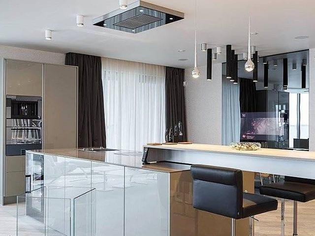 Кухня- студия в Санкт- Петербурге