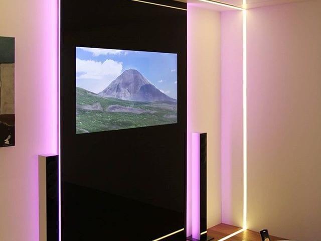 Burg&Glass 49 дюймов в черном стекле