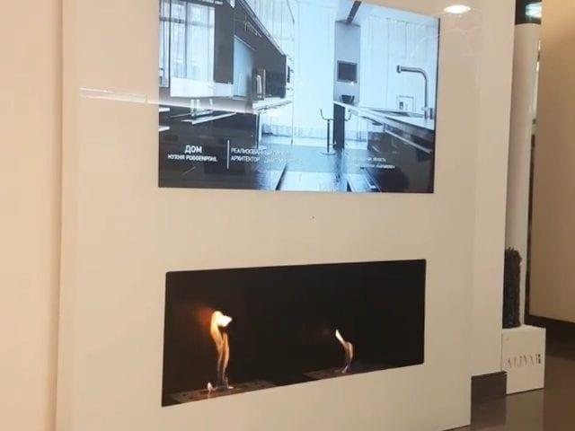 зеркальные телевизоры в ванную