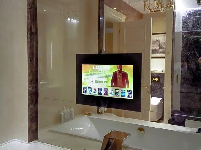 влагозащищенный телевизор для ванной