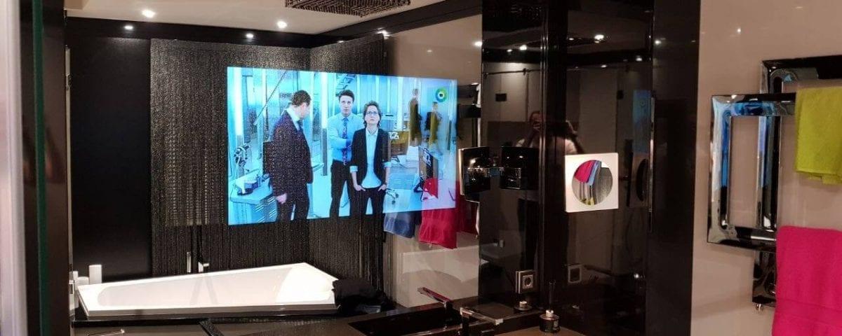 телевизор зеркало в багете