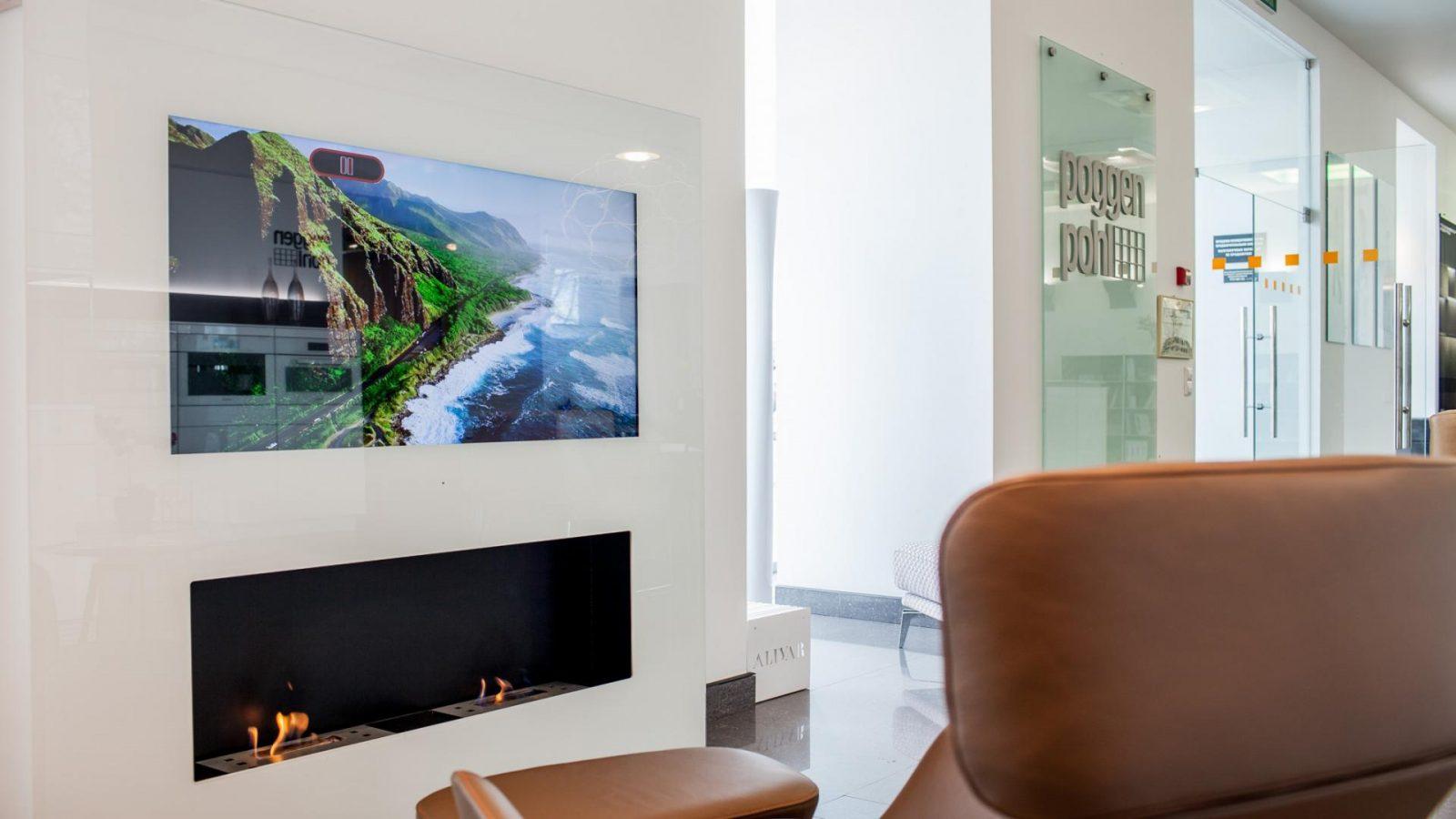 Встроенные телевизоры и их преимущества