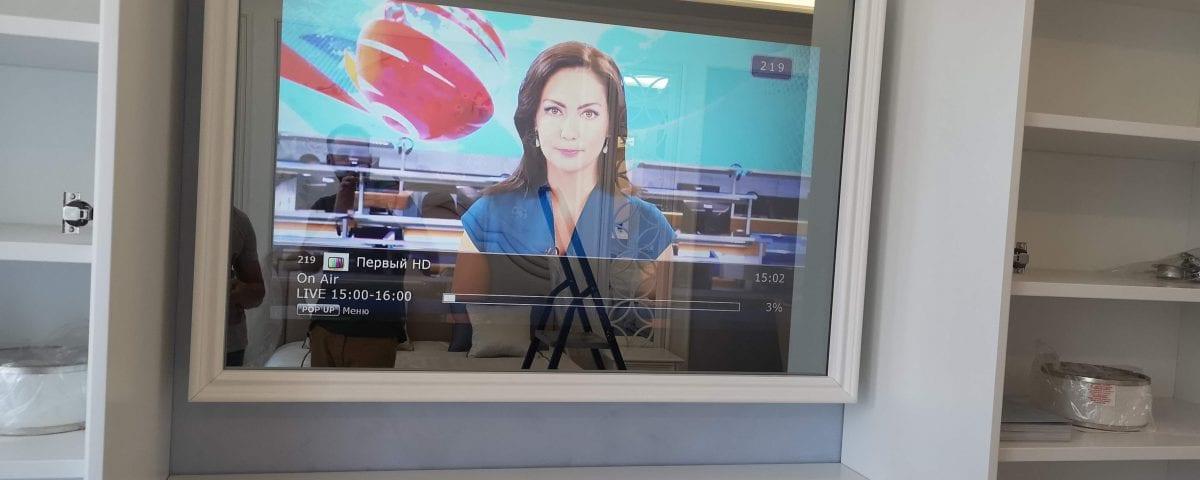 зеркальный телевизор купить в москве