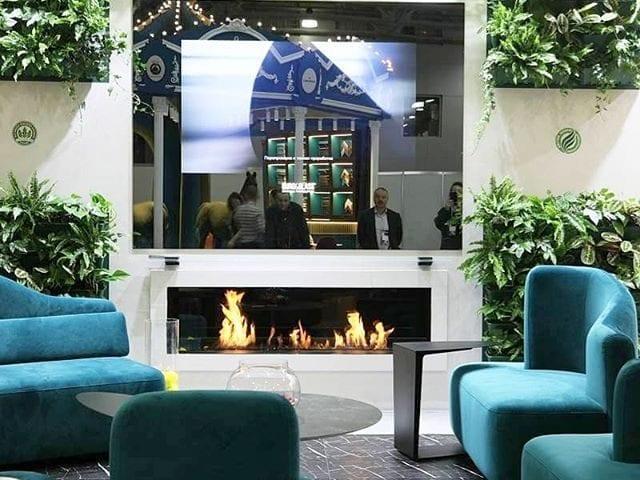 Зеркальный телевизор Burg&Glass на #Batimat2020  Это одна из 5 инсталляций нашей продукции на выставке
