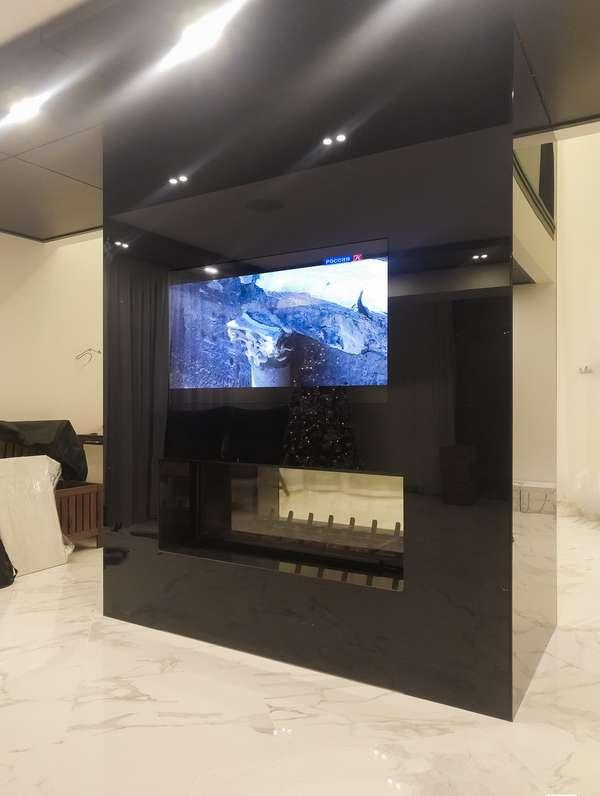 Дизайнерский зеркальный телевизор BURG&GLASS