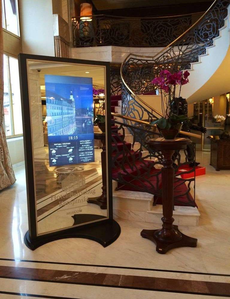 Индивидуальная смарт-панель в гостинице