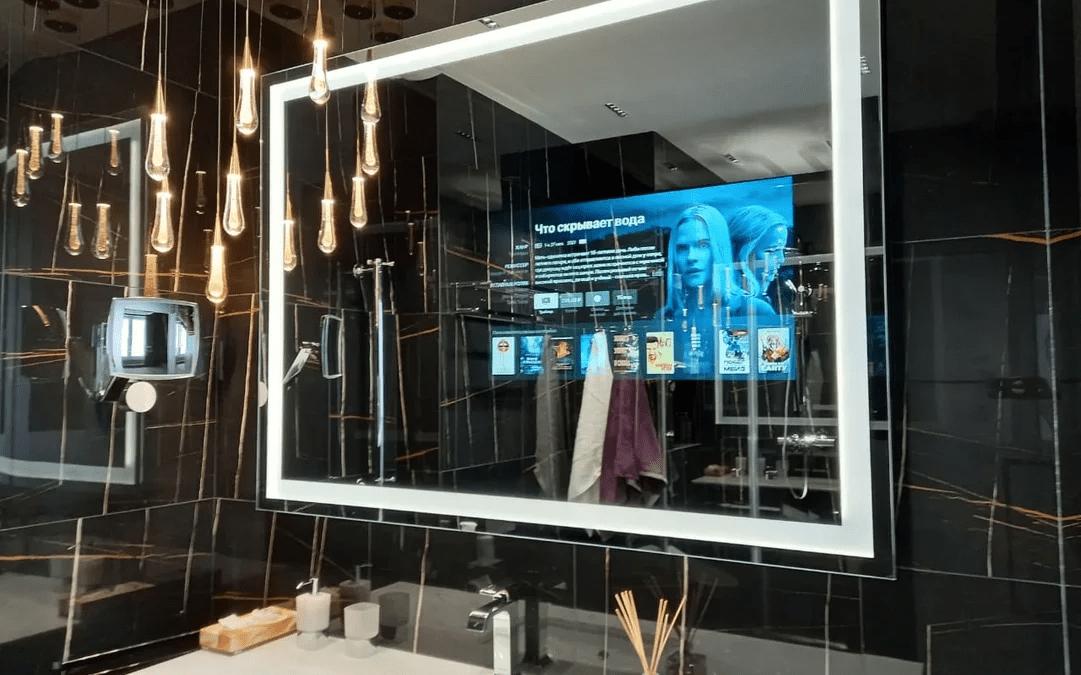 телевизор-зеркало Бурглас